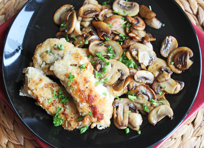 Herbed Chicken and Mushrooms from Jamie Cooks It Up!_edited-1
