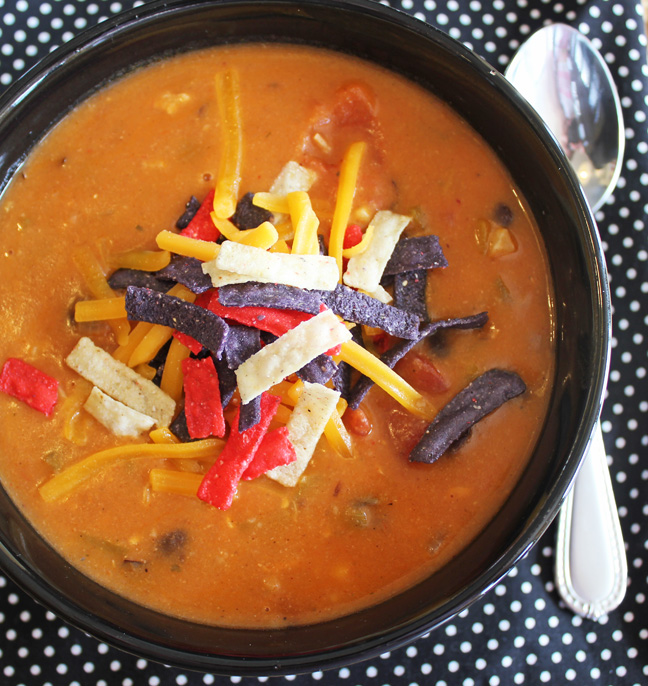 Chili S Copycat Chicken Enchilada Soup Jamie Cooks It Up Family Favorite Food And Recipes