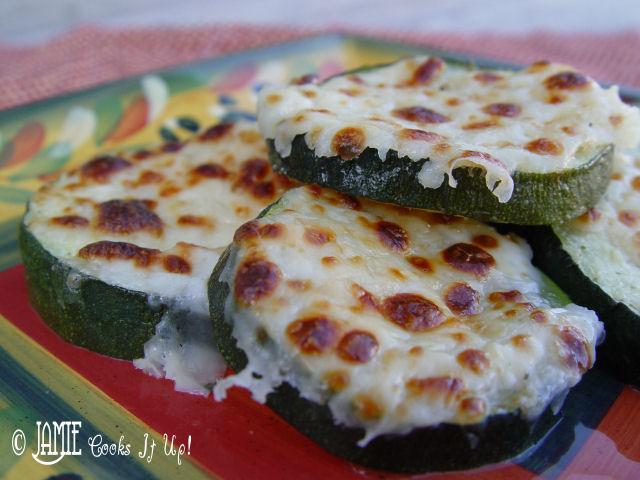 Zucchini with Mozzarella
