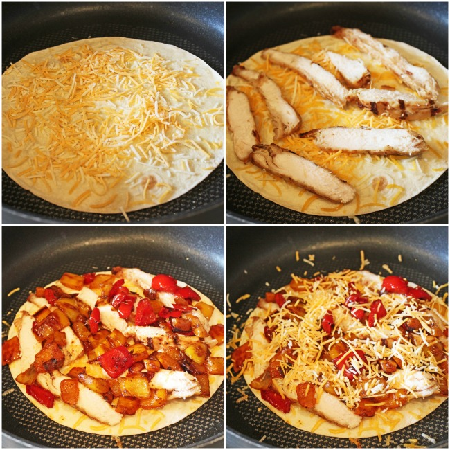 build a quesadilla
