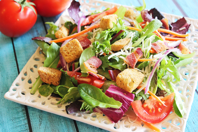Gourmet Green Salad from Jamie Cooks It Up!