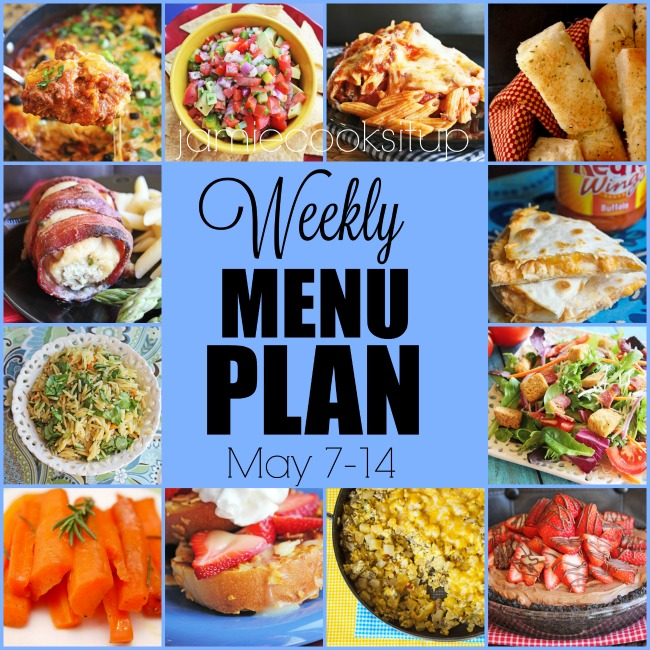 Weekly Menu Plan: May 7-14