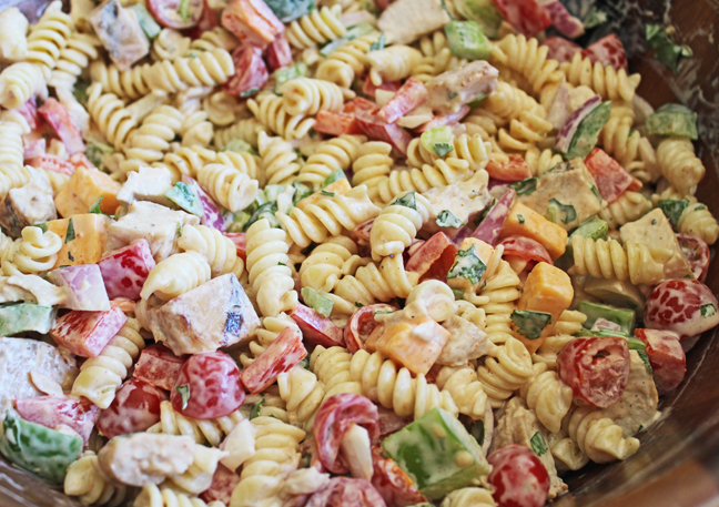 Fiesta Ranch Pasta Salad