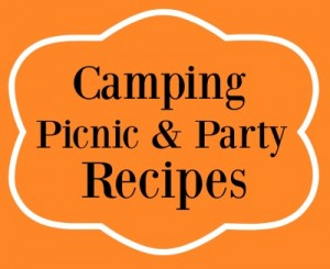 Summertime Orange Camping Picnic and Party Recipes