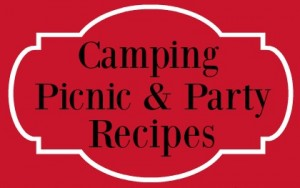 camping picnic red