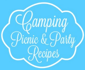sky blue camping picnic and party recipes