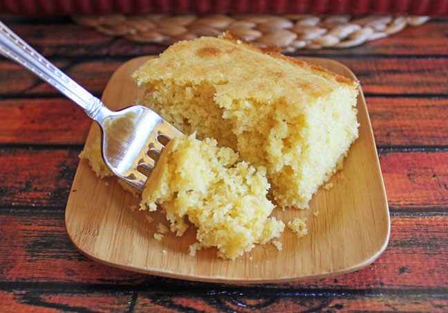 Buttermilk Corn Bread Jamie