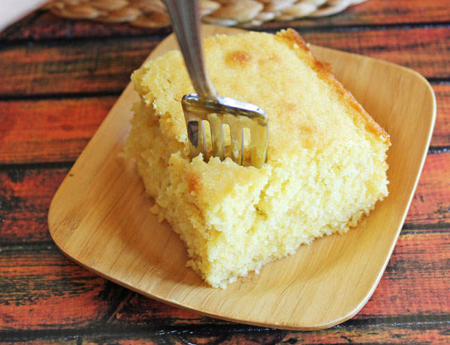 Buttermilk Corn Bread from Jamie Cooks It Up!