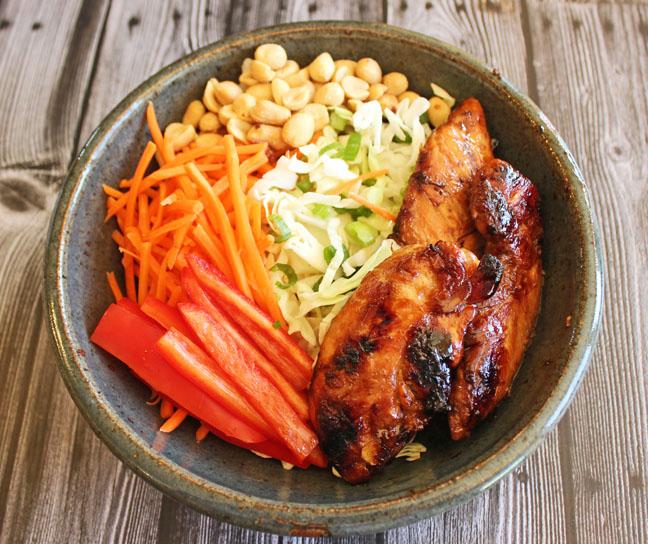 Thai Chicken and Quinoa Salad
