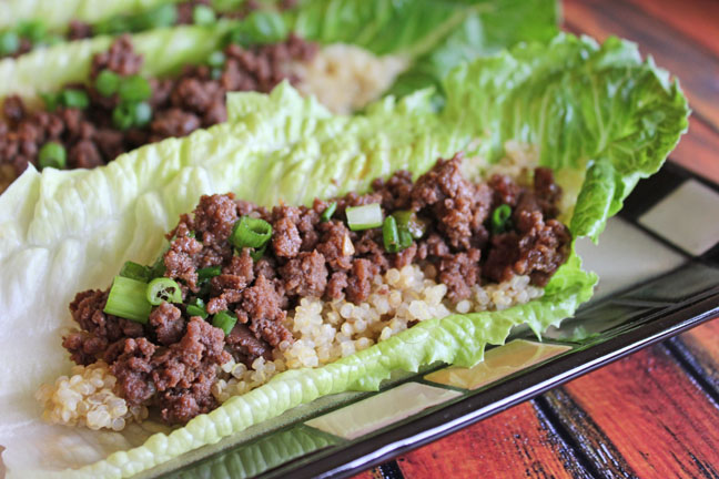 asian-beef-quinoa-lettuce-wraps