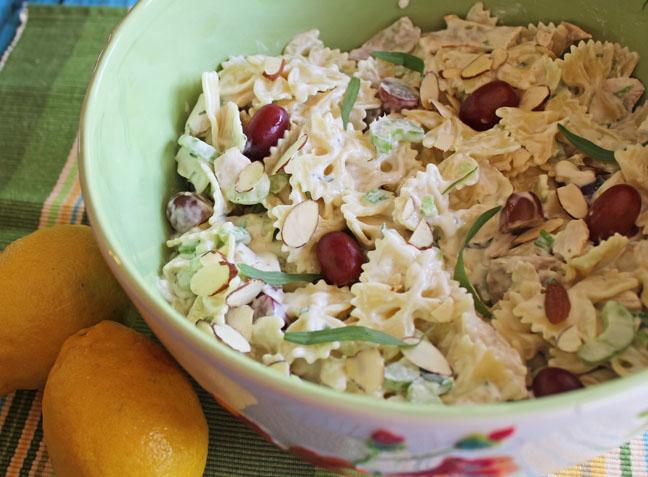 Lemon Tarragon Pasta Salad + 23 more pasta recipes