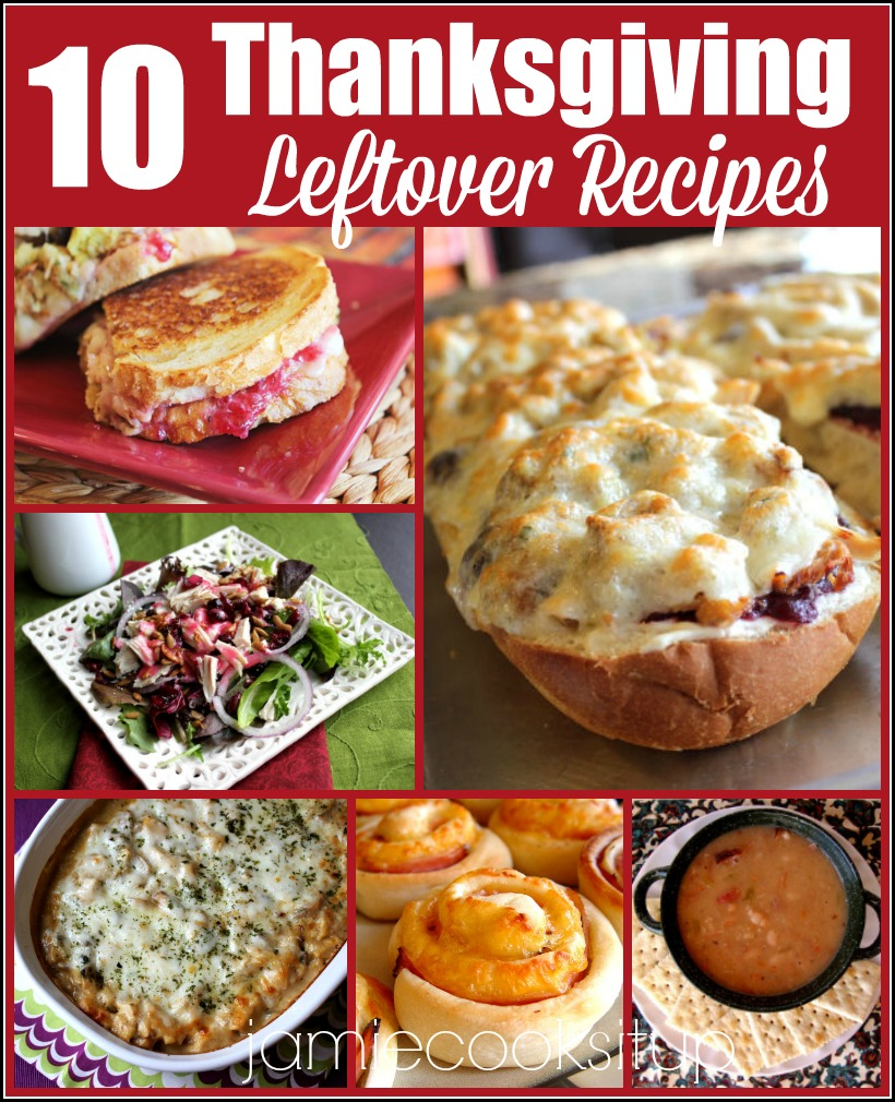 Thanksgiving Leftover Recipes, just for you!