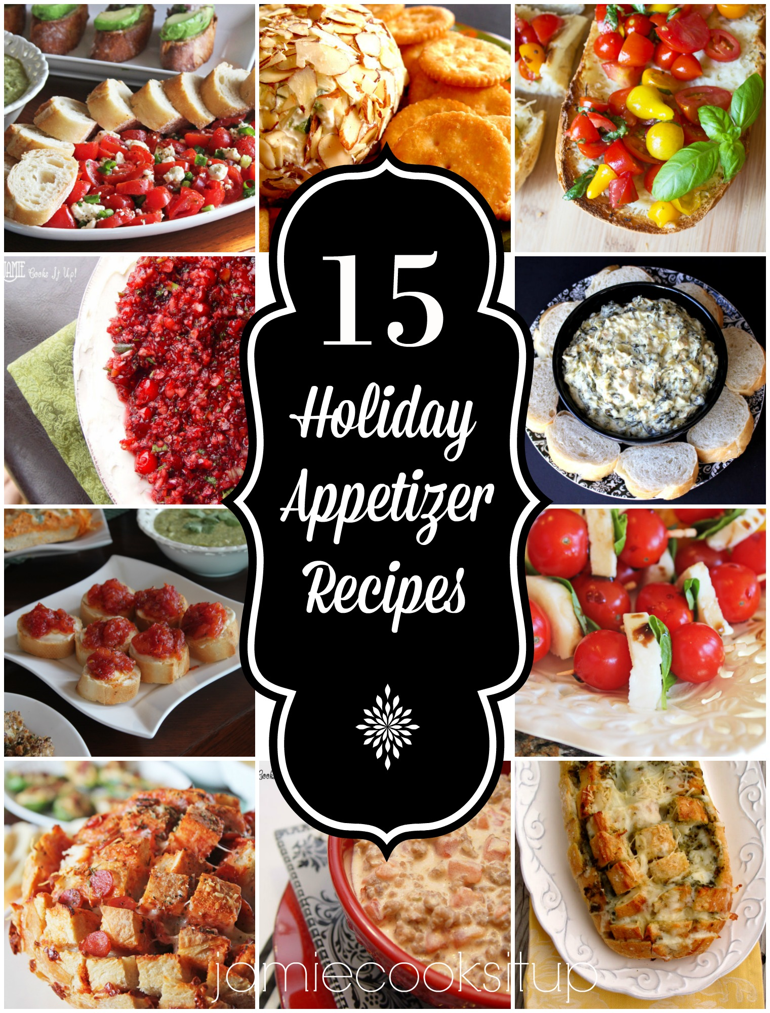 15 Holiday Appetizer Recipes