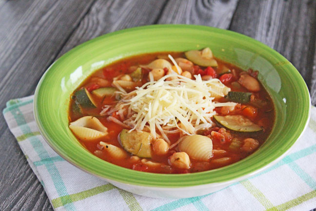 Classic Minestrone Soup