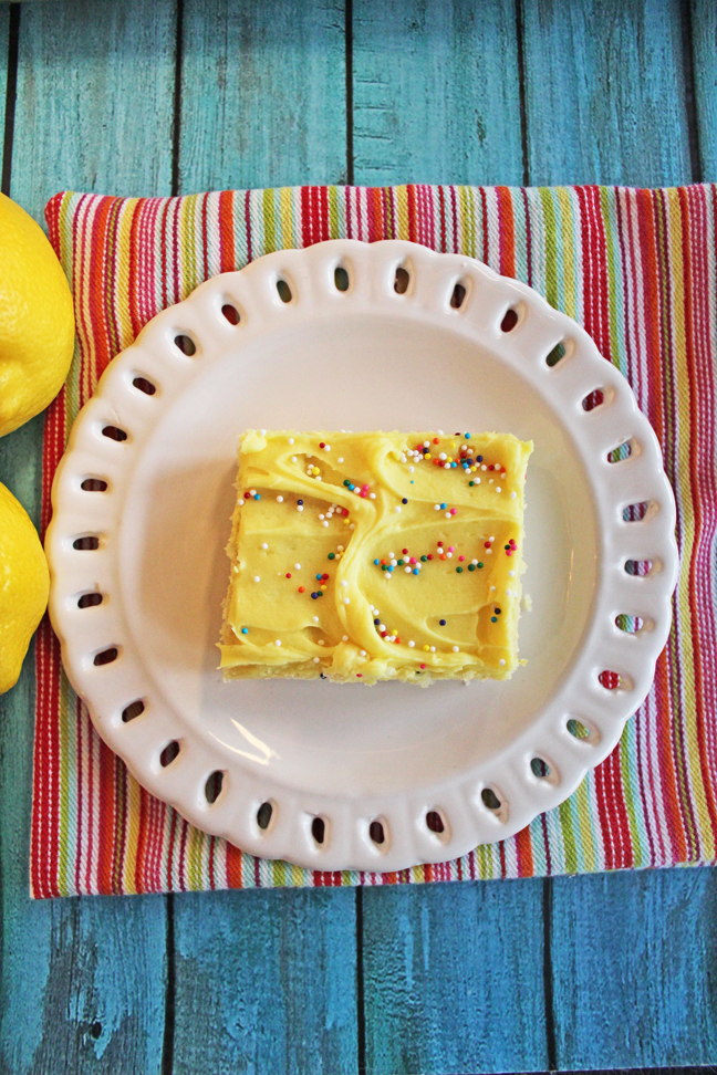 Lemon Sugar Cookie Bars (Large Batch)