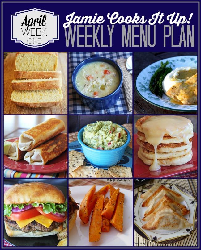 Meal Plan April Week #1