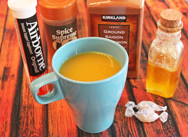 Soothing Honey Orange Drink for Sore Throats