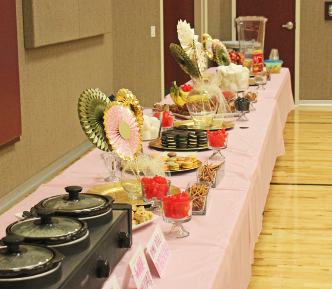 Friday's Report: Mother Daughter Game Night and Fondue Bar