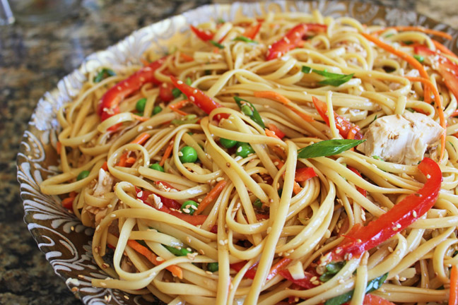Chinese Chicken and Noodle Salad