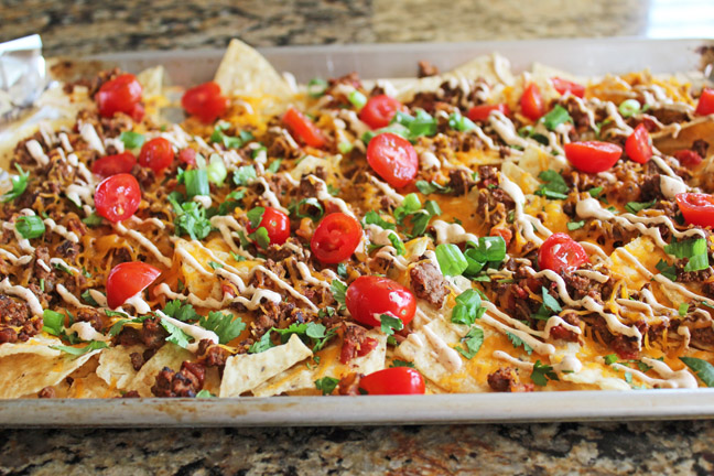 Sheet Pan Taco Nachos