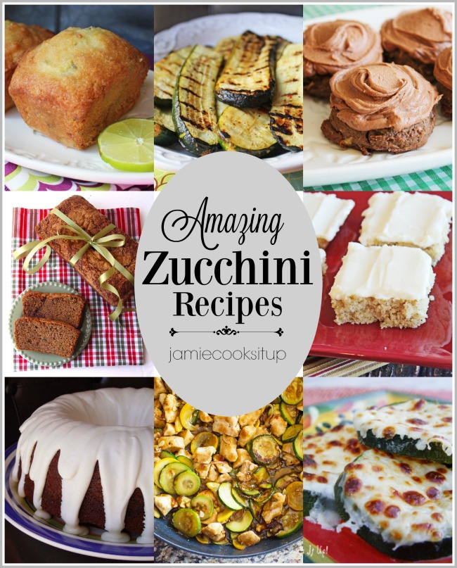 Zucchini Recipes Galore!