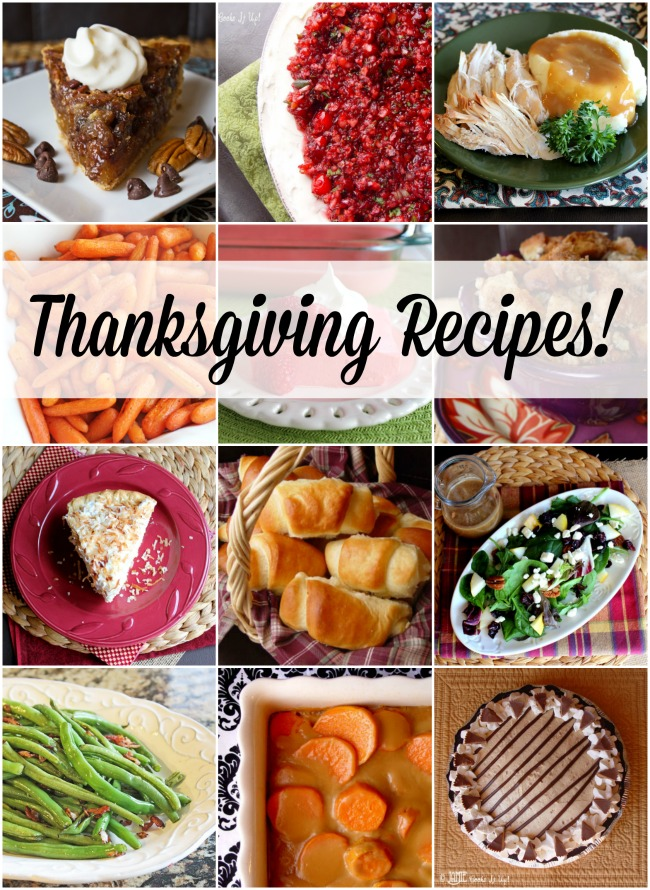 75+Thanksgiving Recipes 2020 Edition