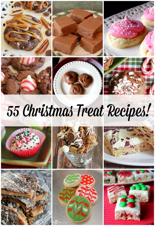 All the Christmas Treat Recipes! Cookies, Candy, Bars, Cake and more!