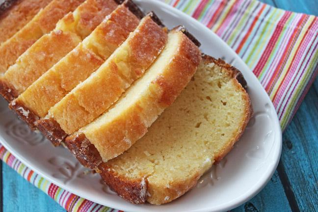Glazed Lemon Quick Bread