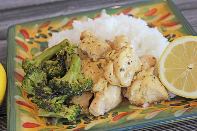 Sheet Pan Lemon Herb Chicken with Roasted Broccoli