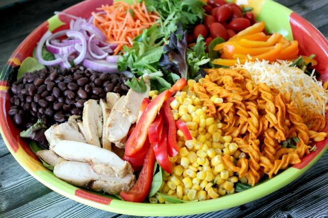 Fiesta Ranch Green Salad, Fully Loaded