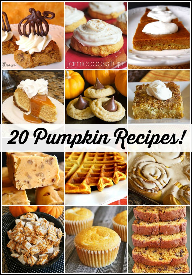 Amazing Pumpkin Recipes just for you!