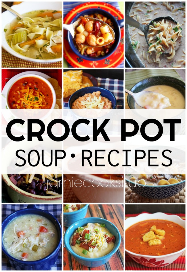 Crock Pot Soup Recipes (Perfect for Halloween Night)