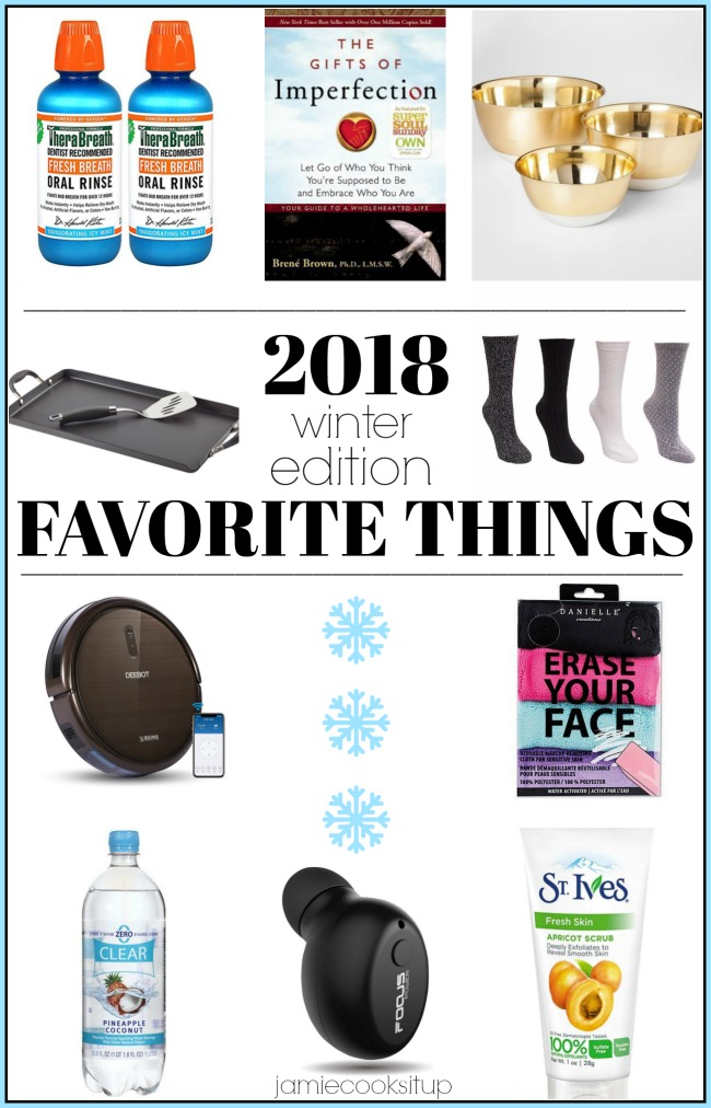 My Favorite Things from 2018