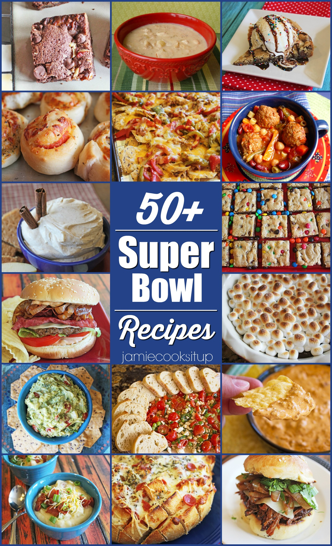 All the SUPER BOWL recipes!