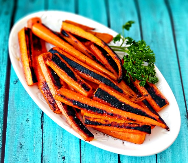 Blackened Carrots (The Best Carrot Recipe Ever)