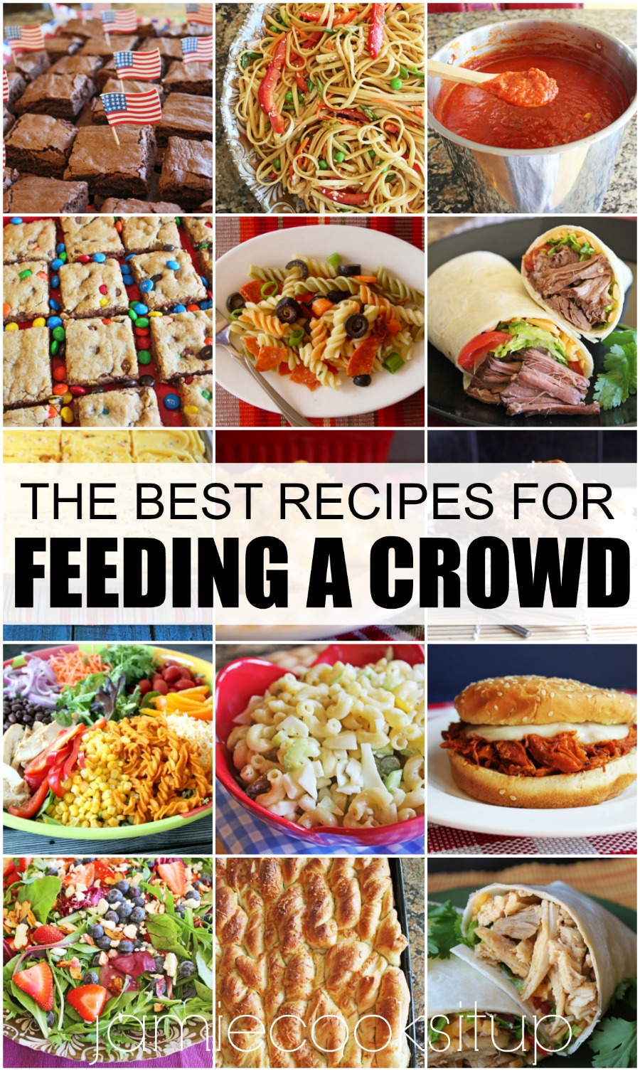 The Best Recipes for Feeding A Crowd (Girls Camp, Family Reunions, Youth Groups, etc)