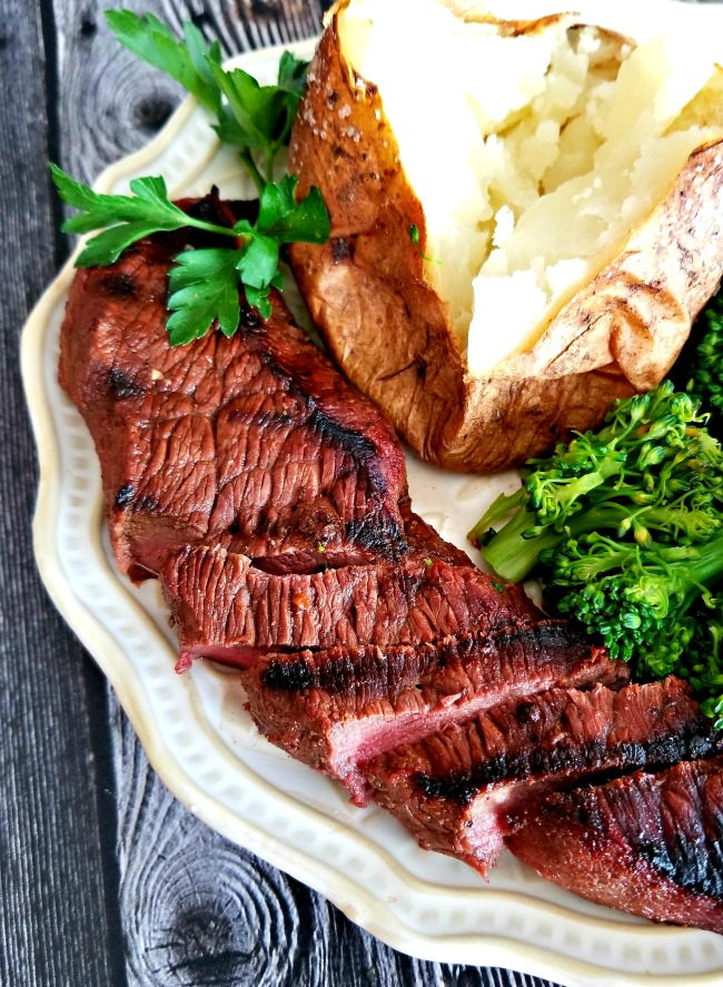 The Best Grilled Steak Marinade