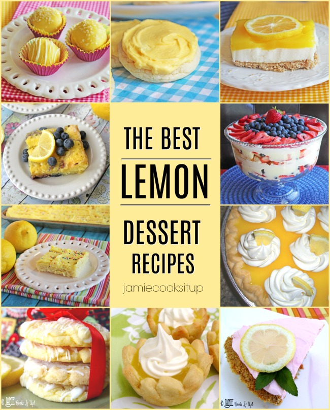Fabulous Lemon Dessert Recipes