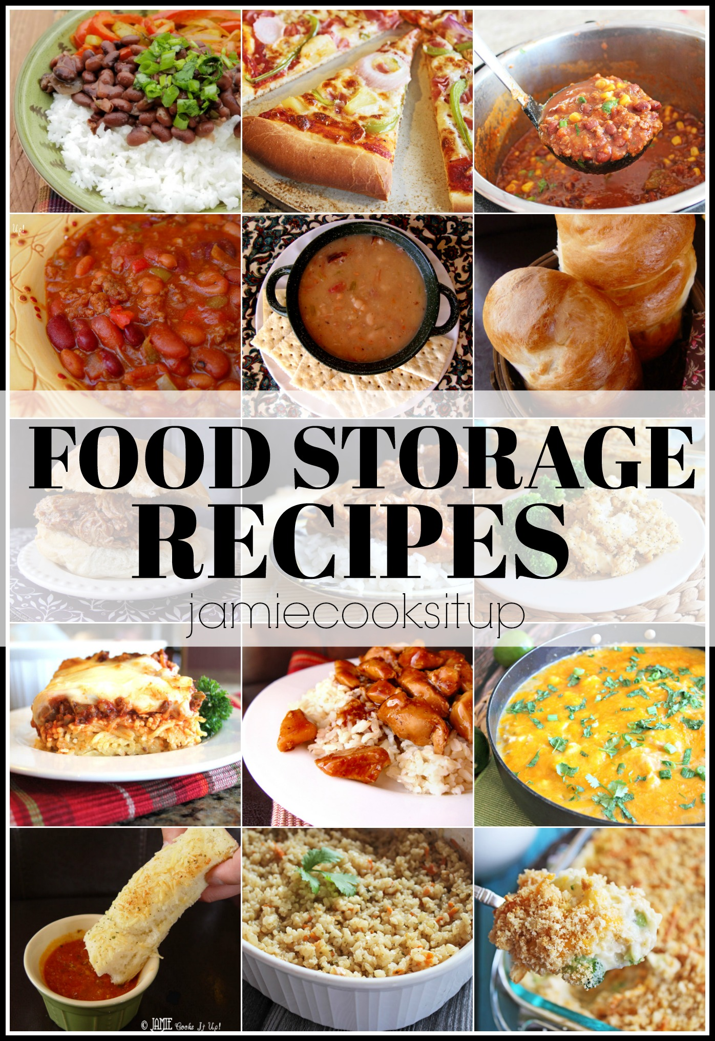 Food Storage Recipes for you and your loved ones