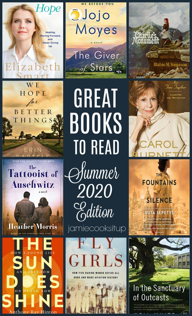 Great Books To Read this Summer (2020 Edition) + $50 Amazon Gift Card Giveaway