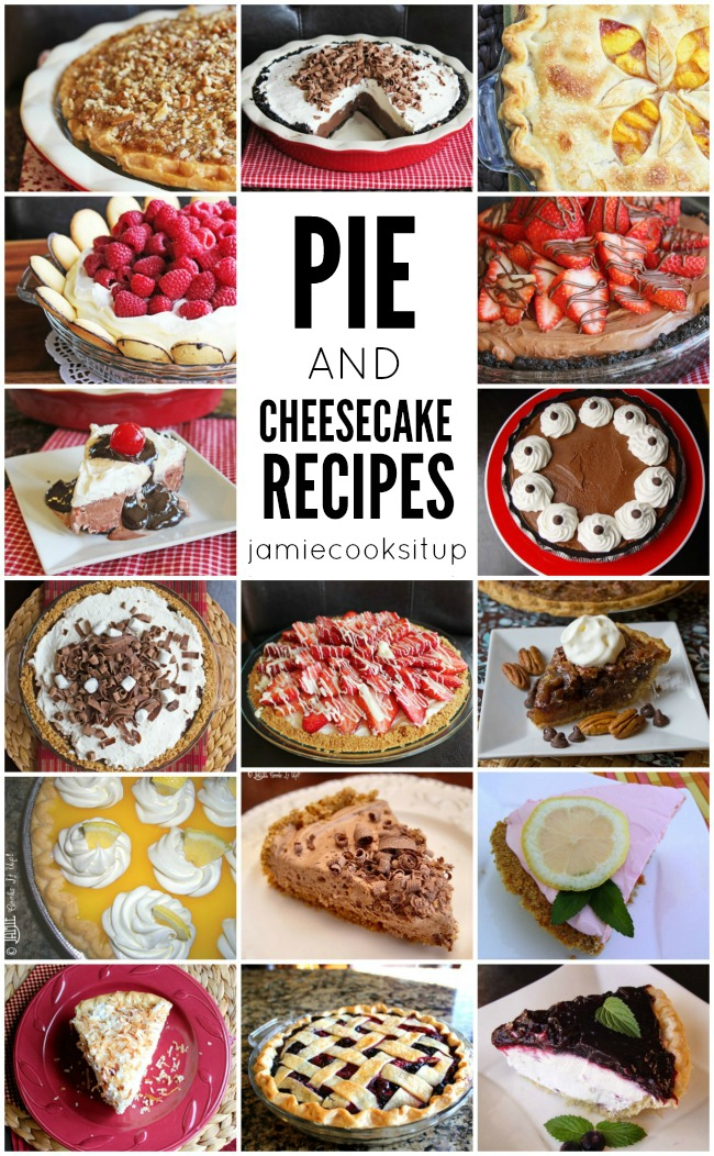 Fabulous Pie and Cheesecake Recipes
