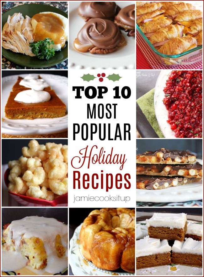 Most Popular Holiday Recipes, all in one spot
