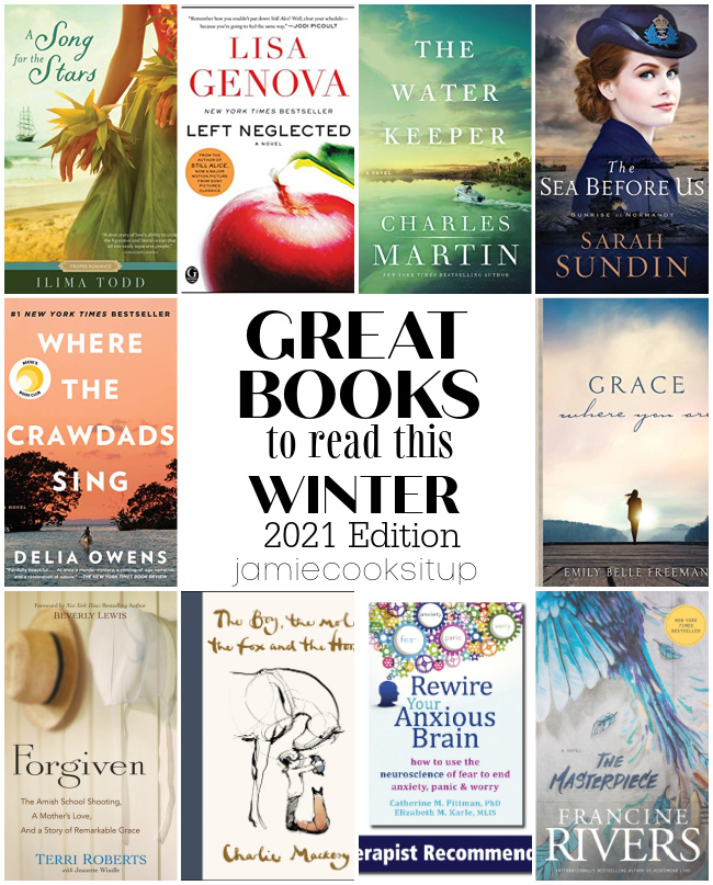 Great Books To Read this Winter (2021 Edition) + $100 Amazon Gift Card Giveaway